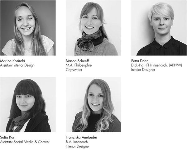Wir begrüßen fünf neue Kollegen