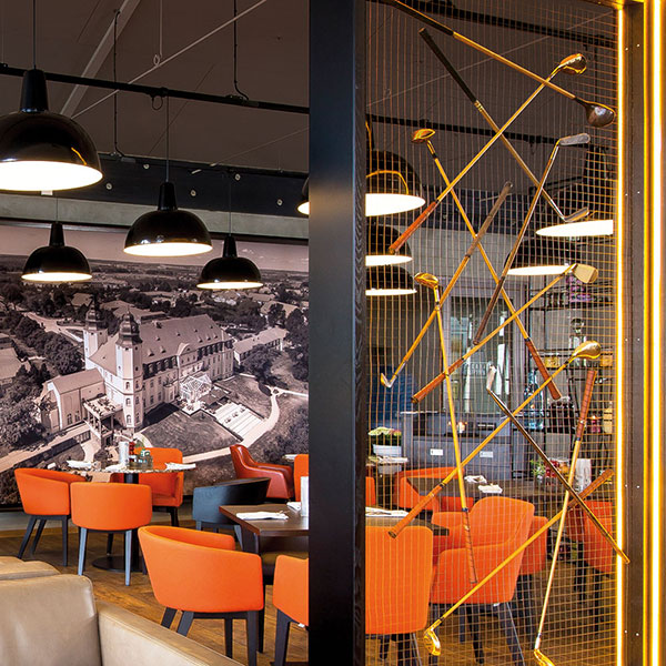 Genusswerkstatt golfclub fleesensee for Kitzig interior design gmbh