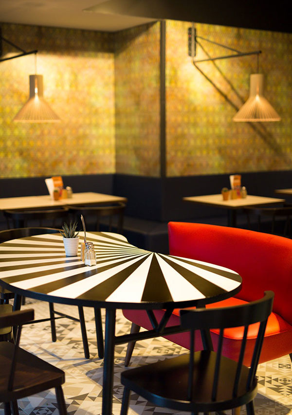 Restaurant Patagona Produktdesign