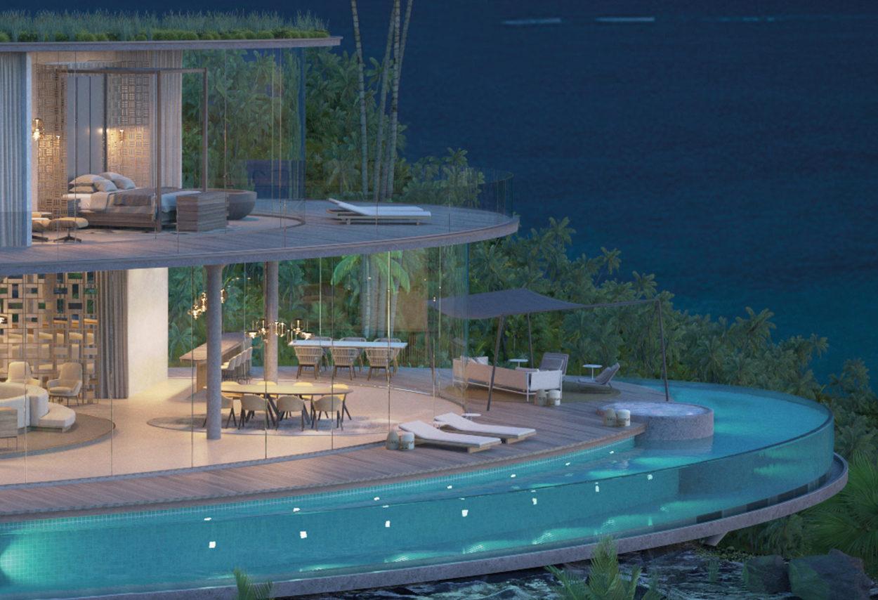 Island Resort — Pazifischer Ozean