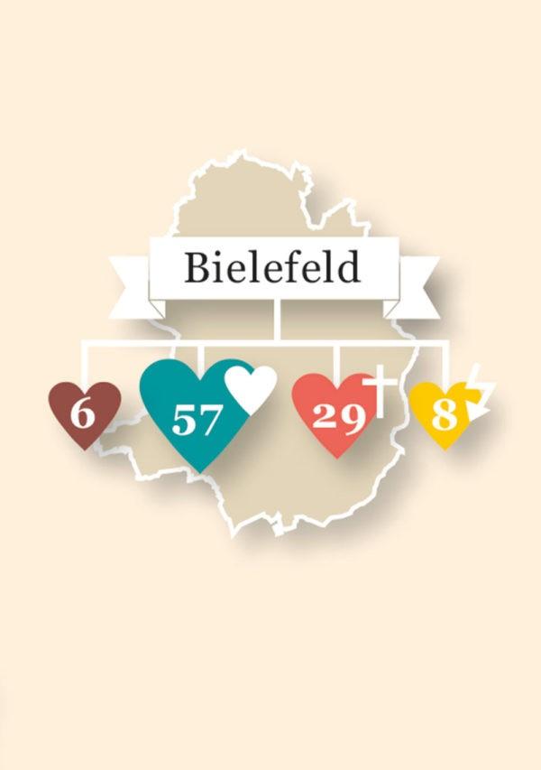 Demographische Stadtkarten — Bielefeld, DE