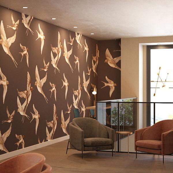 The core hotel heidelberg for Kitzig interior design gmbh