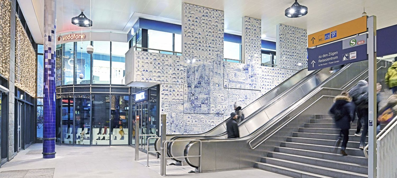 S -Bahn-Station — Hamburg Bergedorf, DE