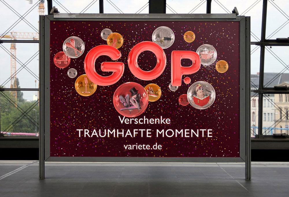 Christmas Campaign — GOP Varieté, DE