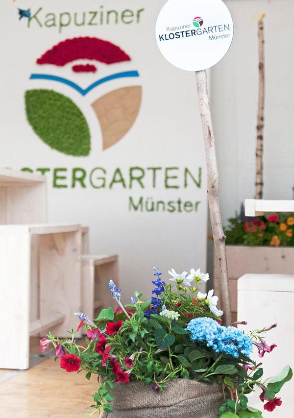 Kapuziner Klostergarten Münster — Messestand, DE