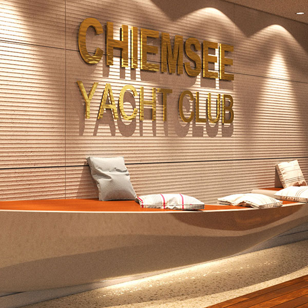 Chiemsee yacht club prien de for Kitzig interior design gmbh