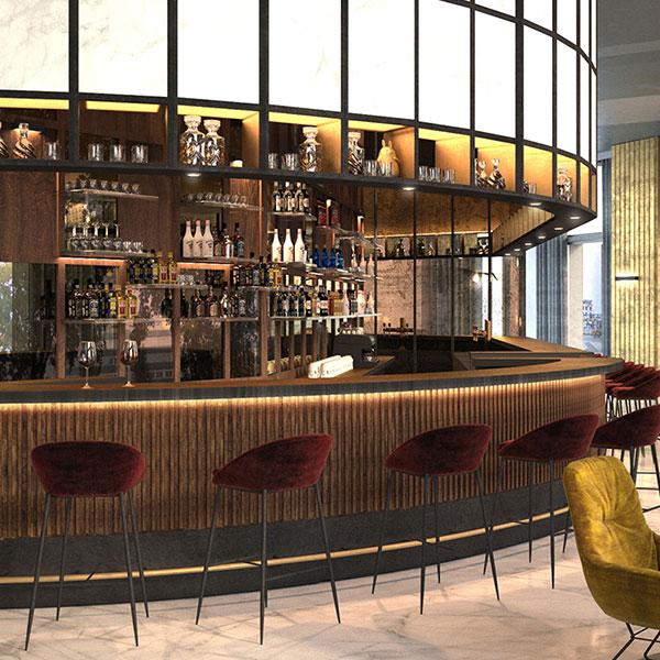 Bar restaurant international hotel group it for Kitzig interior design gmbh