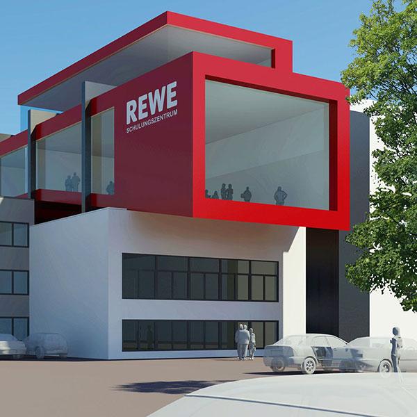 Rewe schulungszentrum dortmund for Kitzig interior design gmbh