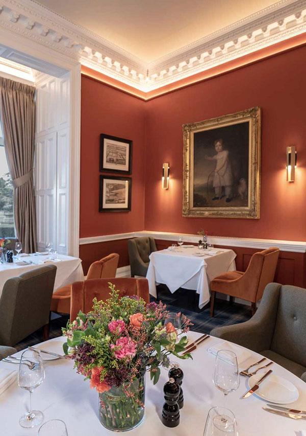 Restaurant & Bar — Schloss Roxburghe, GB