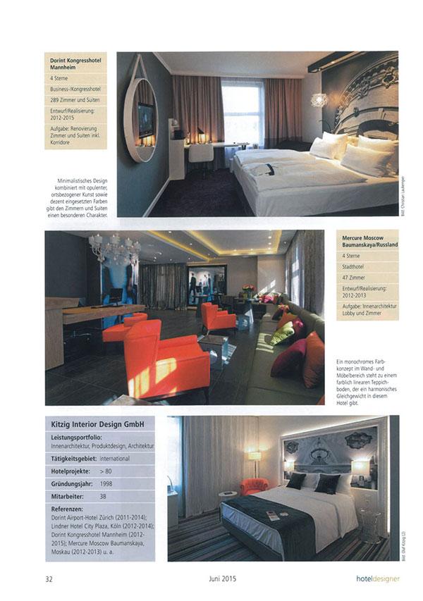Hoteldesigner for Kitzig interior design gmbh